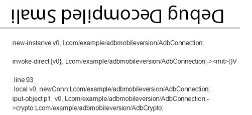 Android Reversing: Debug Decompiled Smali